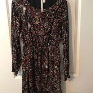 Lauren Conrad floral dress (XS)